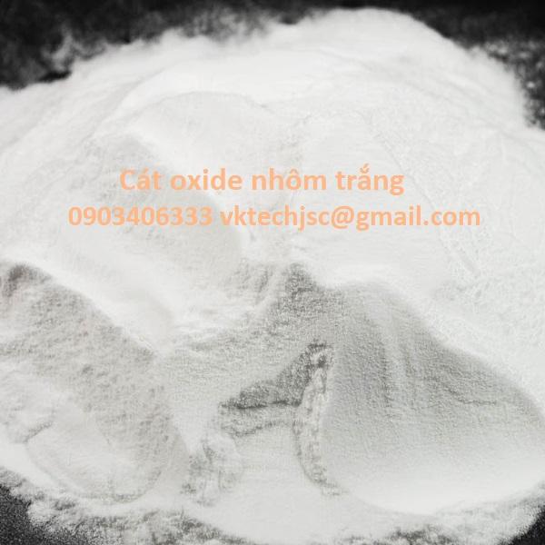Cát kỹ thuật White aluminium oxide #20 #24 #80 #120