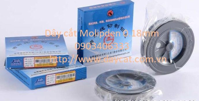 Cuộn dây Molipden 0.18mm dùng cho máy cắt dây
