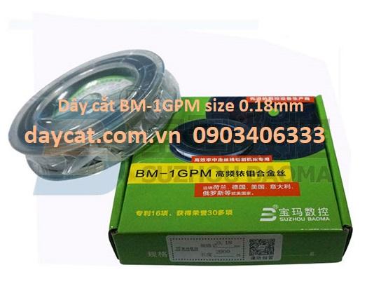 Dây cắt BM-1GPM size 0.18mm Baoma cho máy cắt dây EDM