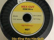 Dây đồng thau nex cut ngt dùng cho máy cắt dây đồng