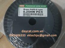 Dây đồng thau Pungkuk dùng cho máy cắt dây EDM